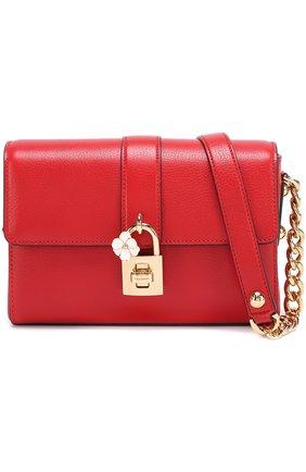 Сумка Dolce Soft Dolce & Gabbana красного цвета   Фото №1