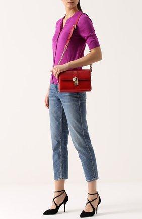 Сумка Dolce Soft Dolce & Gabbana красного цвета   Фото №2