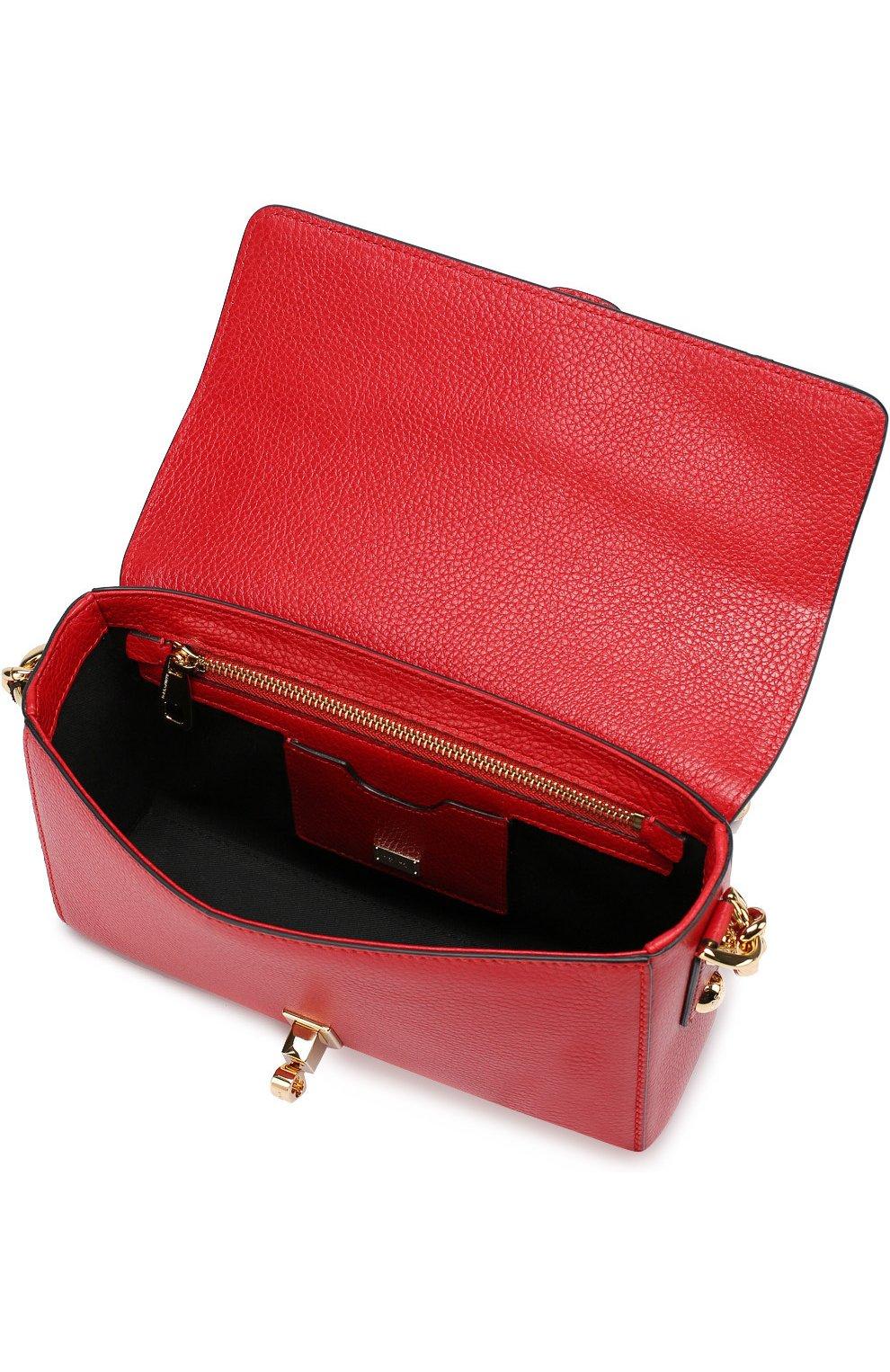 Сумка Dolce Soft Dolce & Gabbana красного цвета   Фото №4