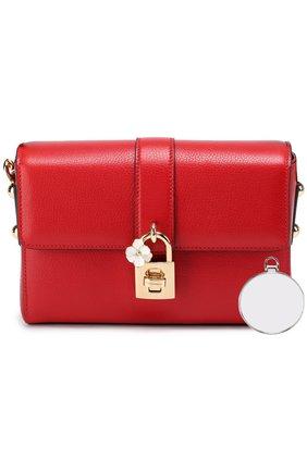 Сумка Dolce Soft Dolce & Gabbana красного цвета   Фото №5