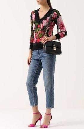 Сумка Dolce Soft Dolce & Gabbana черного цвета | Фото №2