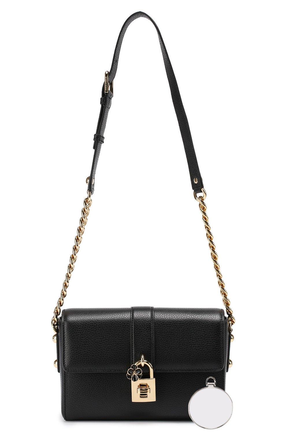 Сумка Dolce Soft Dolce & Gabbana черного цвета | Фото №5