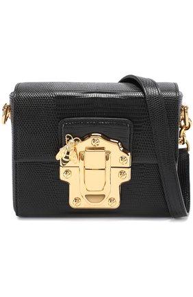 Сумка Lucia Dolce & Gabbana черного цвета | Фото №1