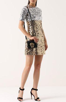 Сумка Lucia Dolce & Gabbana черного цвета | Фото №2