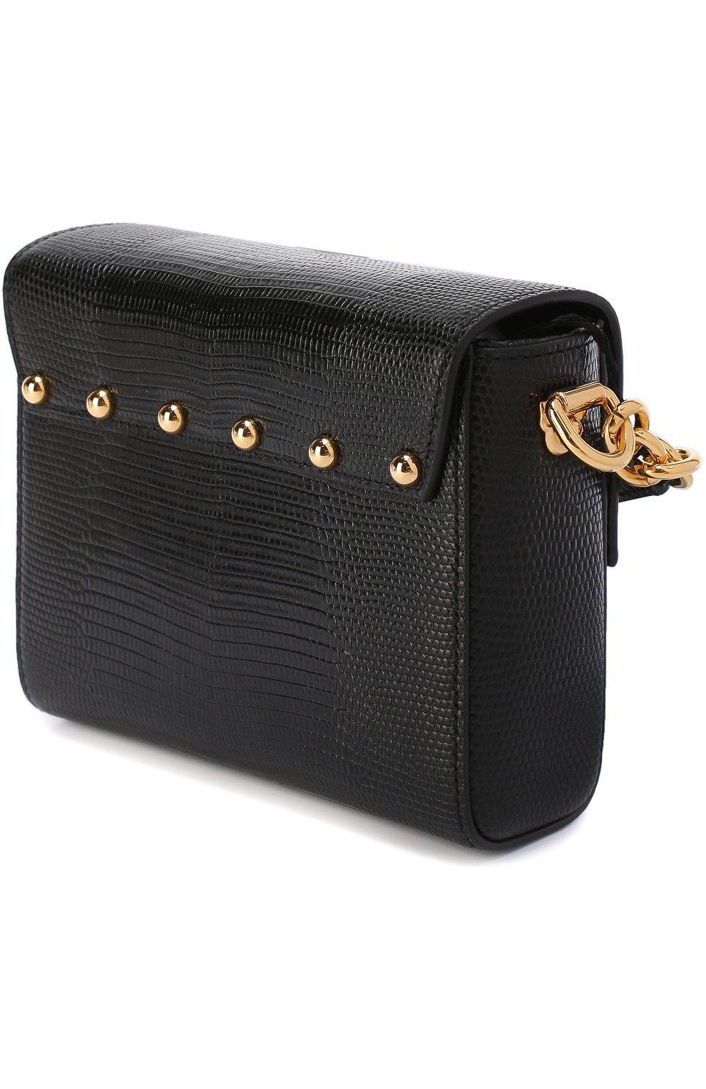 Сумка Lucia Dolce & Gabbana черного цвета | Фото №3