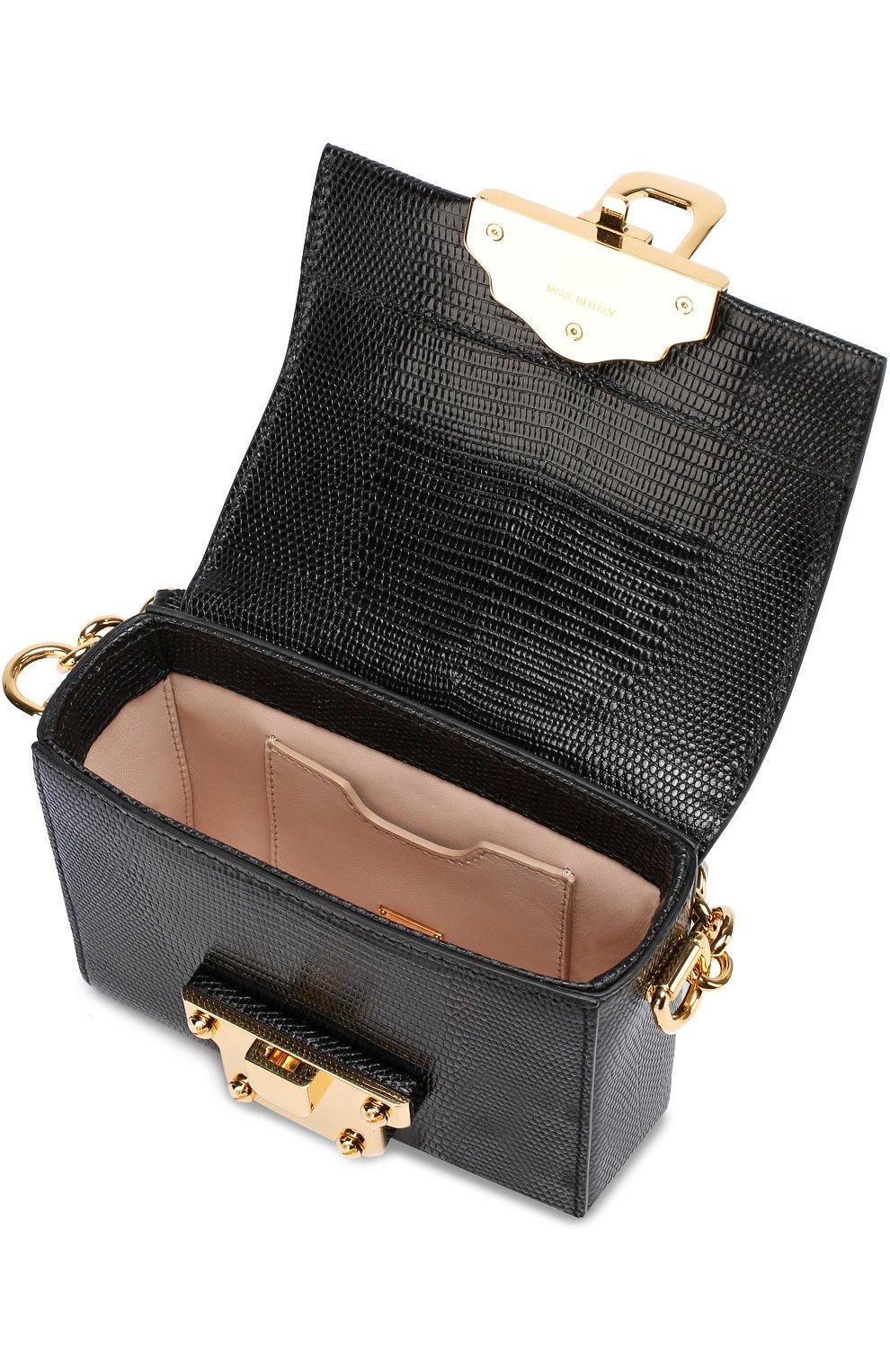 Сумка Lucia Dolce & Gabbana черного цвета | Фото №4