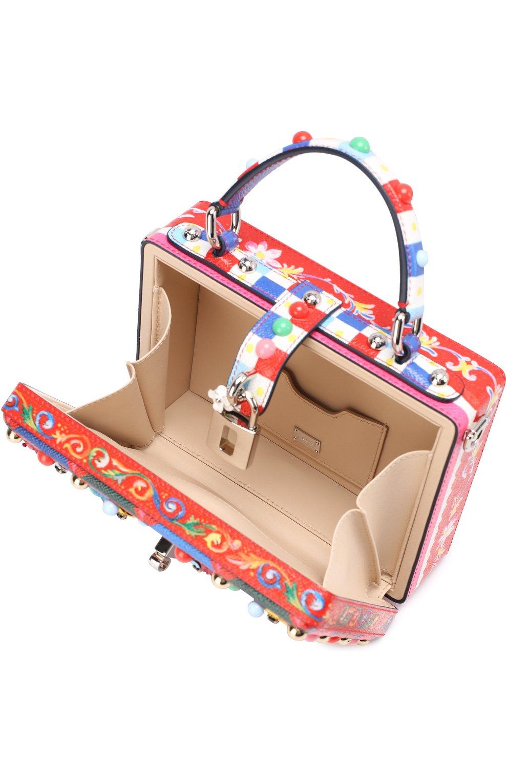 Сумка Dolce Box с декоративной отделкой | Фото №4