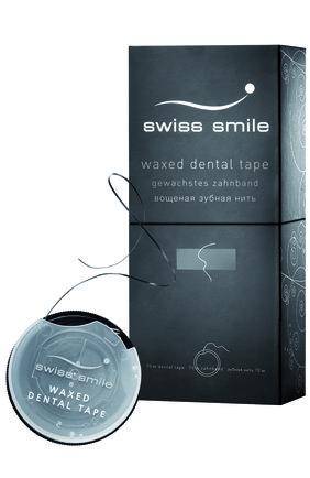 Вощеная зубная нить Basel Swiss Smile | Фото №1