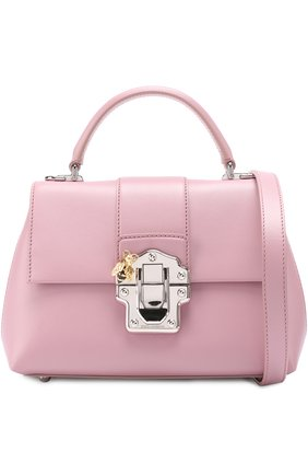 Сумка Lucia small Dolce & Gabbana розовая цвета   Фото №1