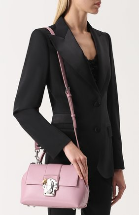 Сумка Lucia small Dolce & Gabbana розовая цвета   Фото №5