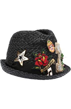 Шляпа с декоративной отделкой | Фото №1