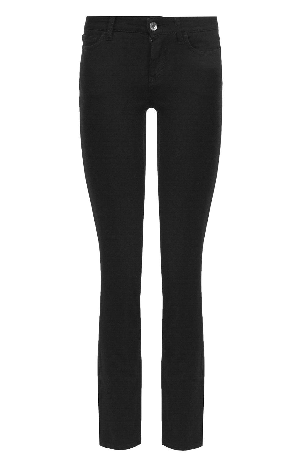 Укороченные джинсы-скинни   Фото №1