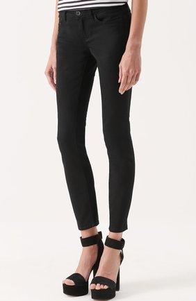 Укороченные джинсы-скинни Dolce & Gabbana черные   Фото №3