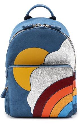 Рюкзак Silver Cloud Mini из кожи и замши | Фото №1