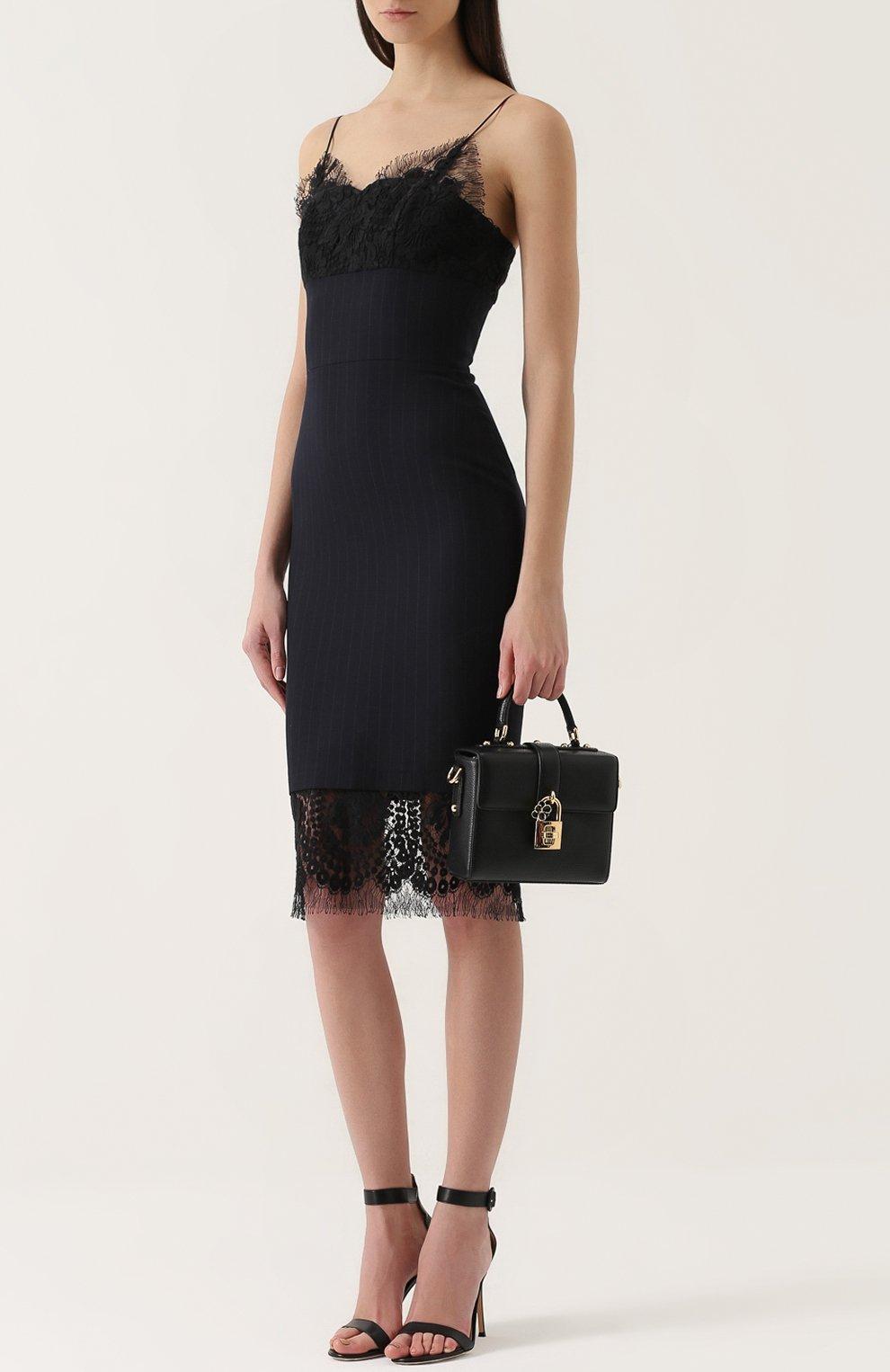 Сумка Dolce Soft Dolce & Gabbana черная цвета | Фото №2