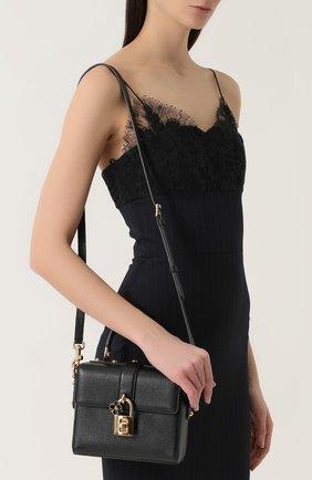 Сумка Dolce Soft Dolce & Gabbana черная цвета | Фото №5