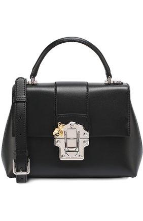 Сумка Lucia small Dolce & Gabbana черная цвета | Фото №1