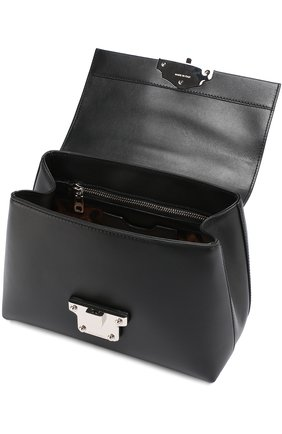 Сумка Lucia small Dolce & Gabbana черная цвета | Фото №4