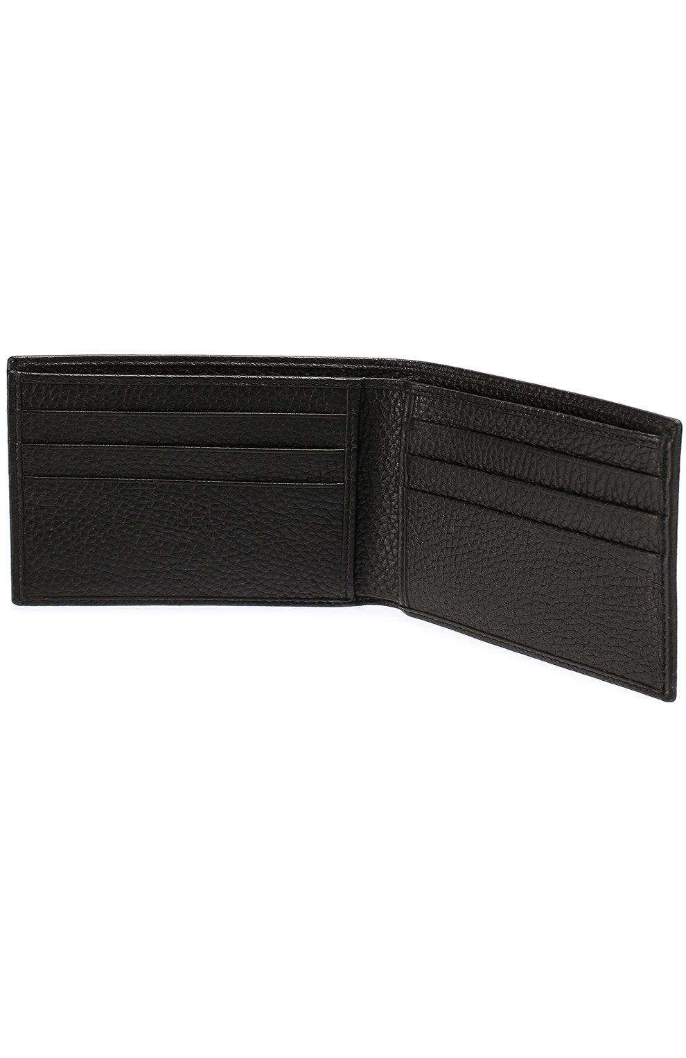 Кожаное портмоне с декоративной отделкой и отделениями для кредитных карт | Фото №3
