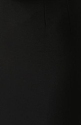 Юбка-карандаш с разрезом и широким поясом | Фото №5