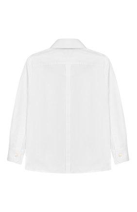 Детская хлопковая рубашка DOLCE & GABBANA белого цвета, арт. 0131/L41S67/FUEAJ/2-6 | Фото 2