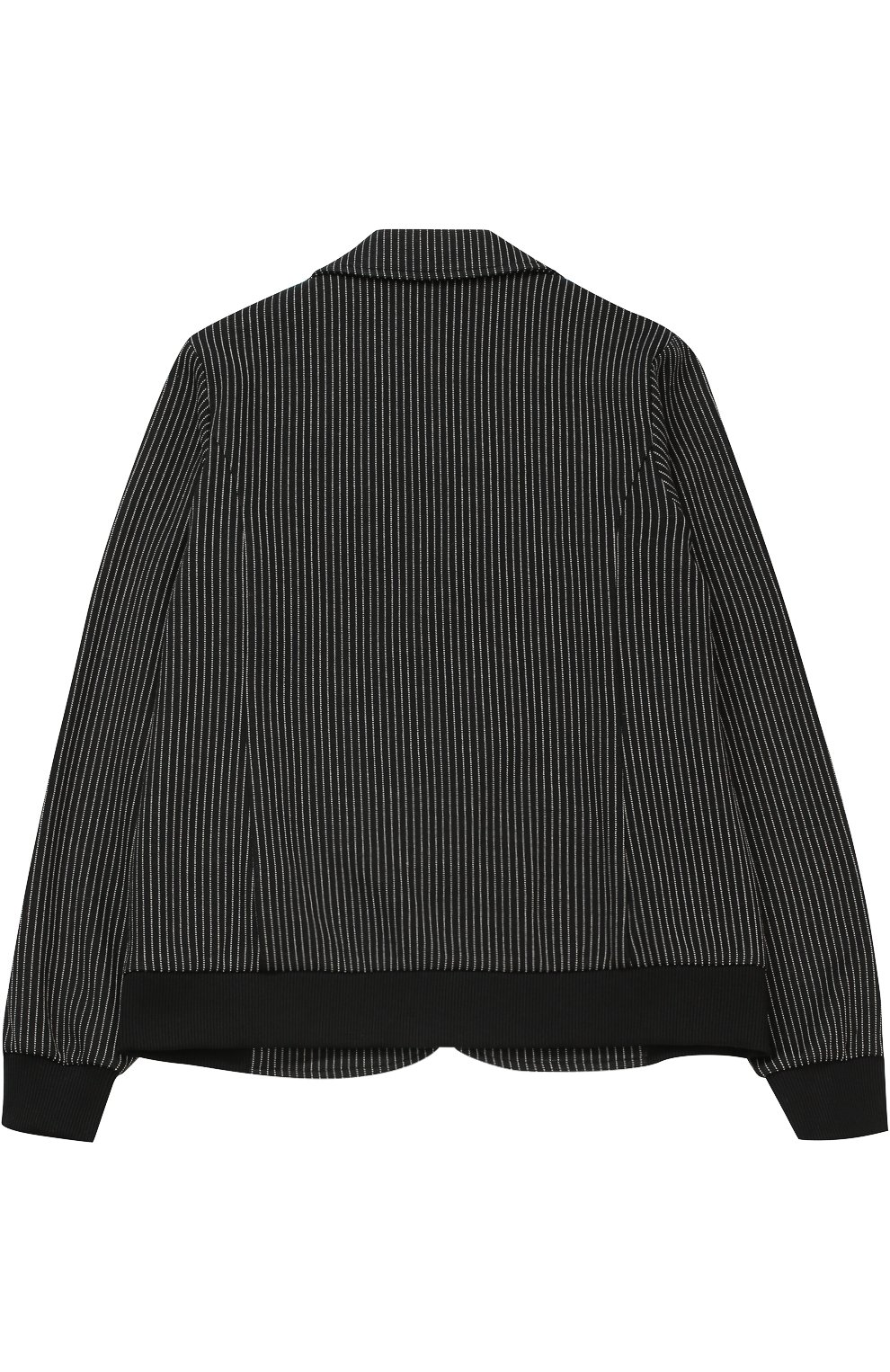 Пиджак с эластичными вставками и нашивками | Фото №2