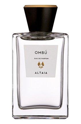 Женский парфюмерная вода ombu ALTAIA бесцветного цвета, арт. 52010 | Фото 1