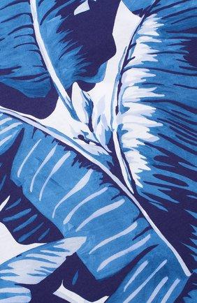 Детская футболка джерси с принтом Dolce & Gabbana голубого цвета   Фото №3