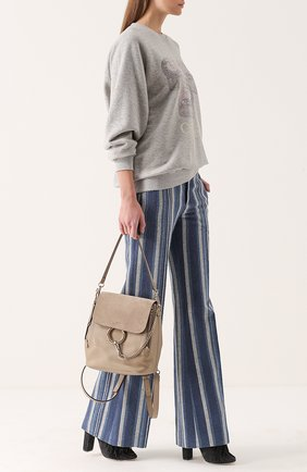 Рюкзак Faye с отделкой из замши | Фото №2