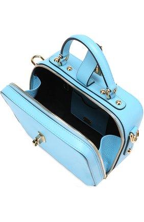 Сумка Rosaria Dolce & Gabbana голубая цвета | Фото №4