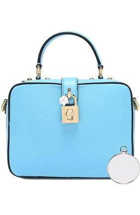 Сумка Rosaria Dolce & Gabbana голубая цвета | Фото №6