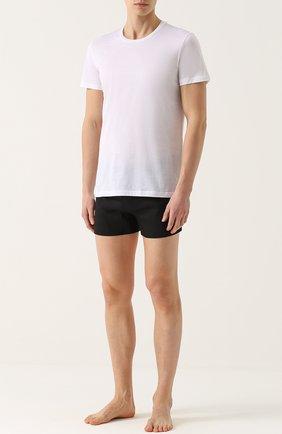 Мужские хлопковая футболка с круглым вырезом LA PERLA белого цвета, арт. 0020151 | Фото 2