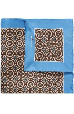Шелковый платок с узором | Фото №1