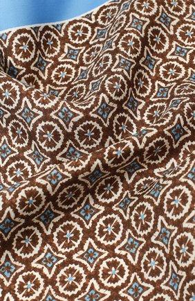 Шелковый платок с узором | Фото №2
