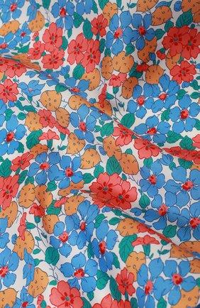 Мужской шелковый платок с узором KITON разноцветного цвета, арт. P0CH/8N17   Фото 2