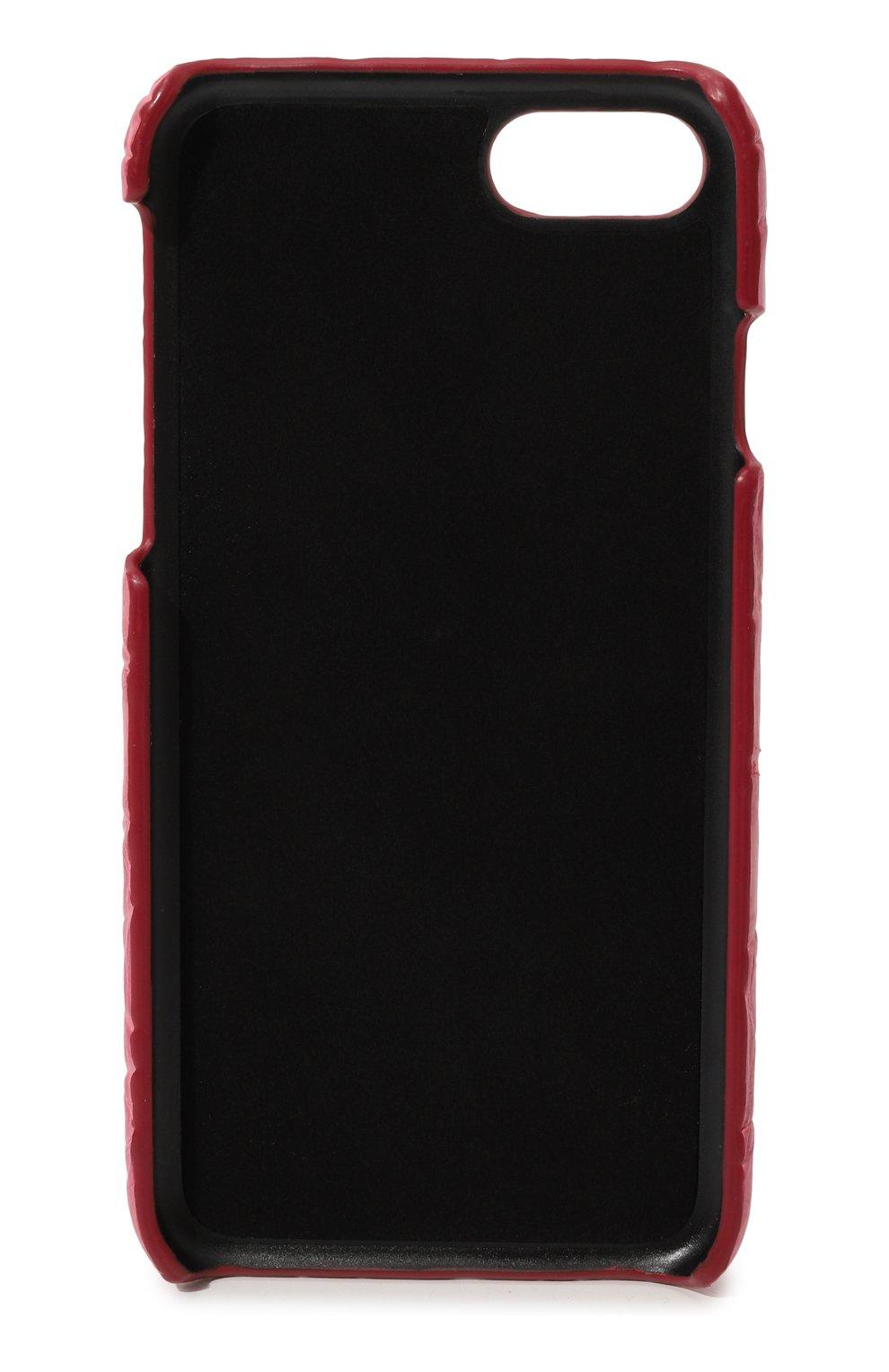 Чехол для iPhone 7 из кожи крокодила | Фото №2