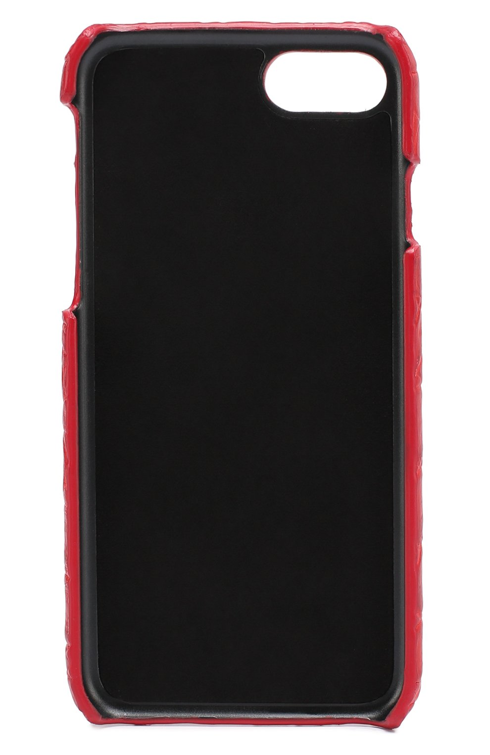 Чехол для iPhone 7 из кожи крокодила Dolce & Gabbana  | Фото №2