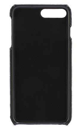 Чехол для iPhone 7 Plus из кожи крокодила Dolce & Gabbana  | Фото №2