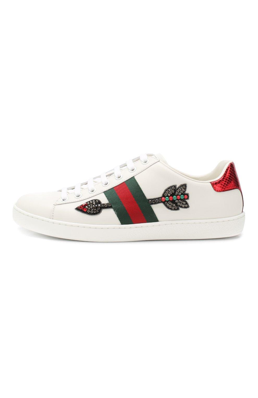 a46415dae526 Женская обувь Gucci по цене от 17 650 руб. купить в интернет-магазине ЦУМ