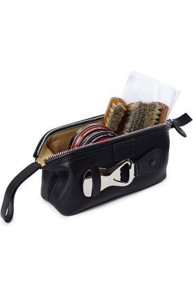 Кожаный несессер с предметами для чистки обуви   Фото №1