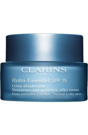 Женское интенсивно увлажняющий крем spf 15 hydra-essentiel CLARINS бесцветного цвета, арт. 80018819 | Фото 1