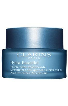 Женское интенсивно увлажняющий крем hydra-essentiel CLARINS бесцветного цвета, арт. 80018820 | Фото 1