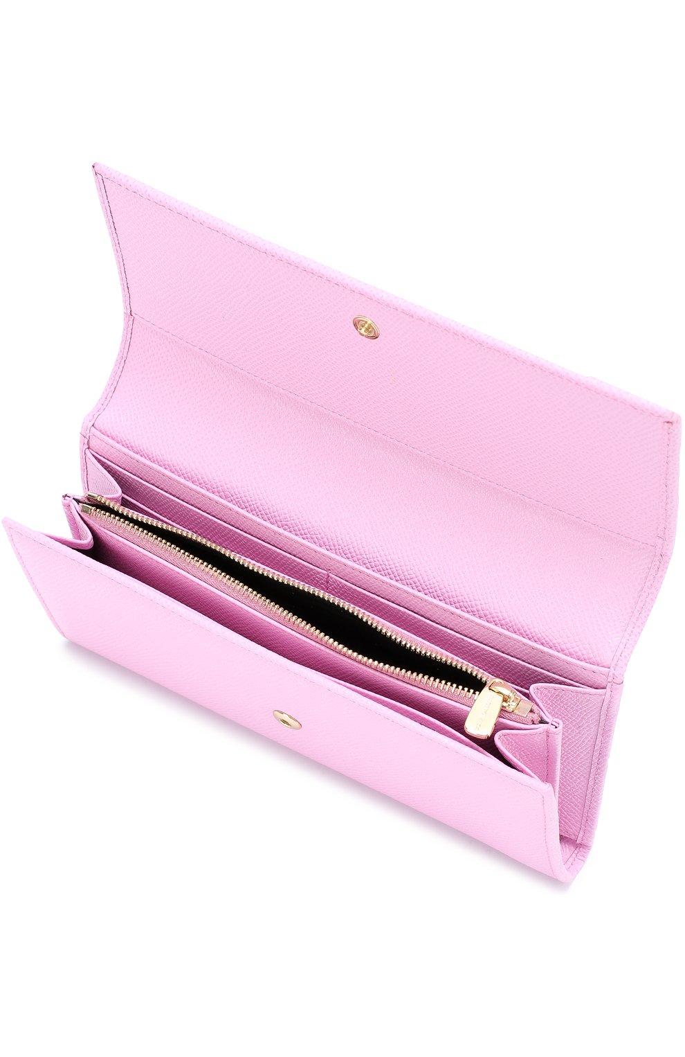 Кожаный кошелек с тиснением Dauphine | Фото №3