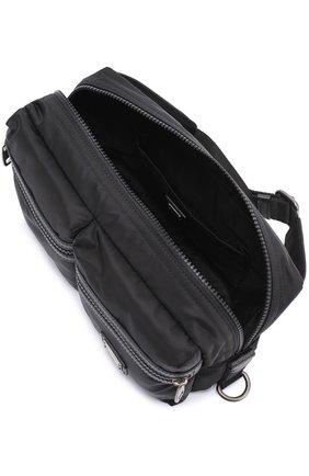 Поясная сумка Vulcano с отделкой из натуральной кожи | Фото №4