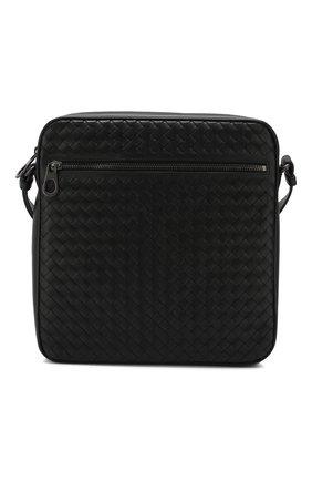 Кожаная сумка-планшет с плетением intrecciato   Фото №1