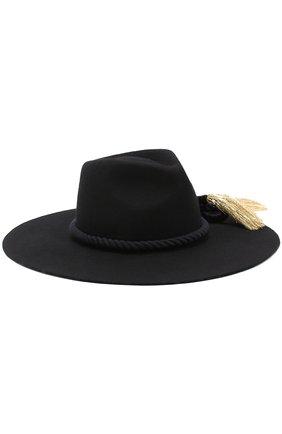 Шерстяная шляпа с кистями | Фото №1