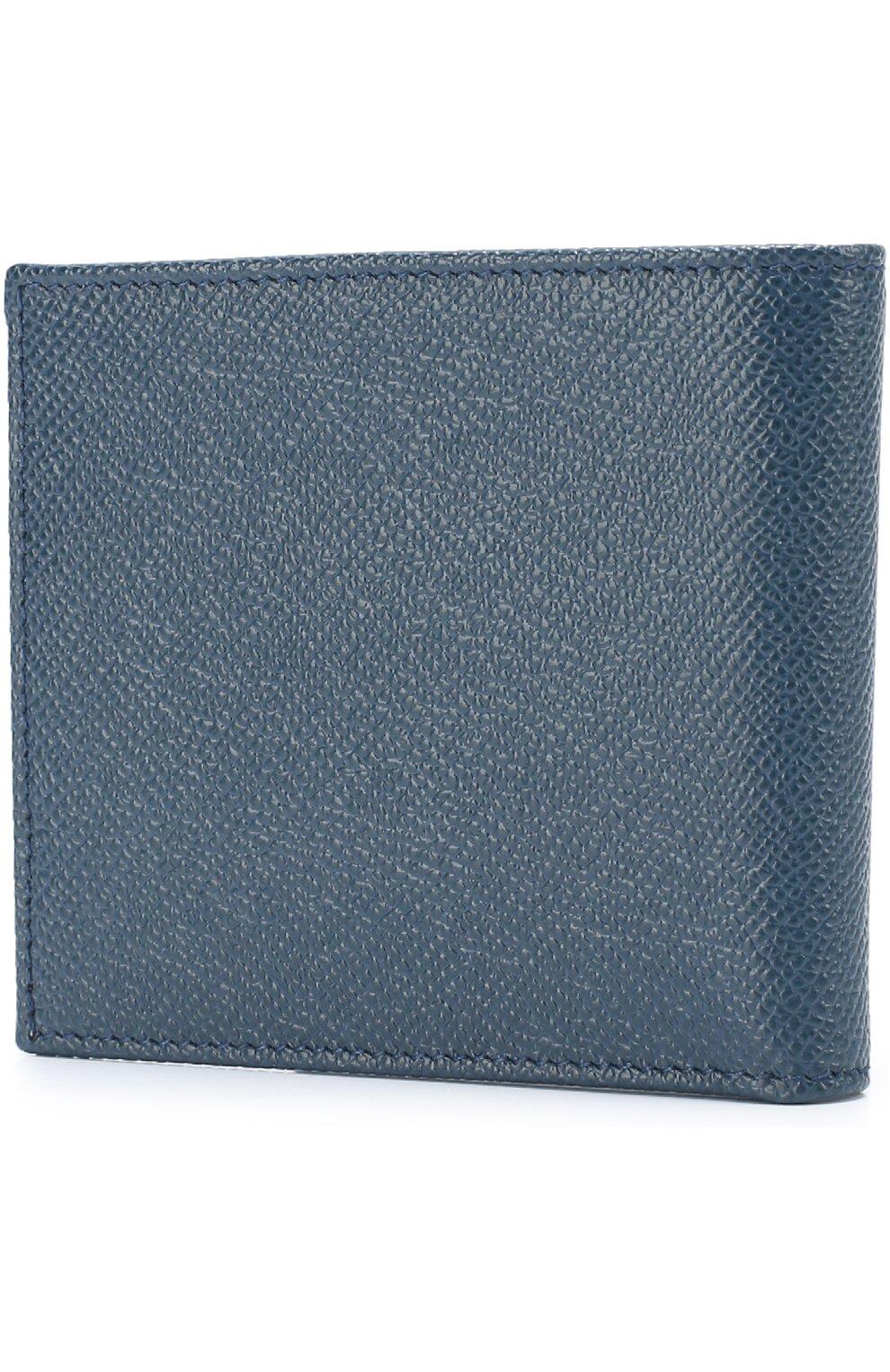 Кожаное портмоне с отделениями для кредитных карт и монет | Фото №2