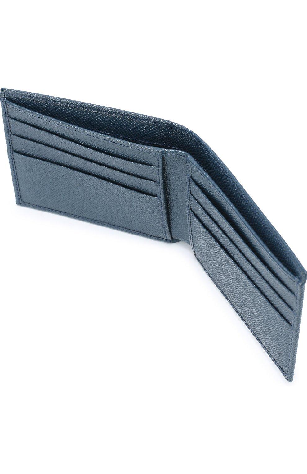 Кожаное портмоне с отделениями для кредитных карт и монет | Фото №3