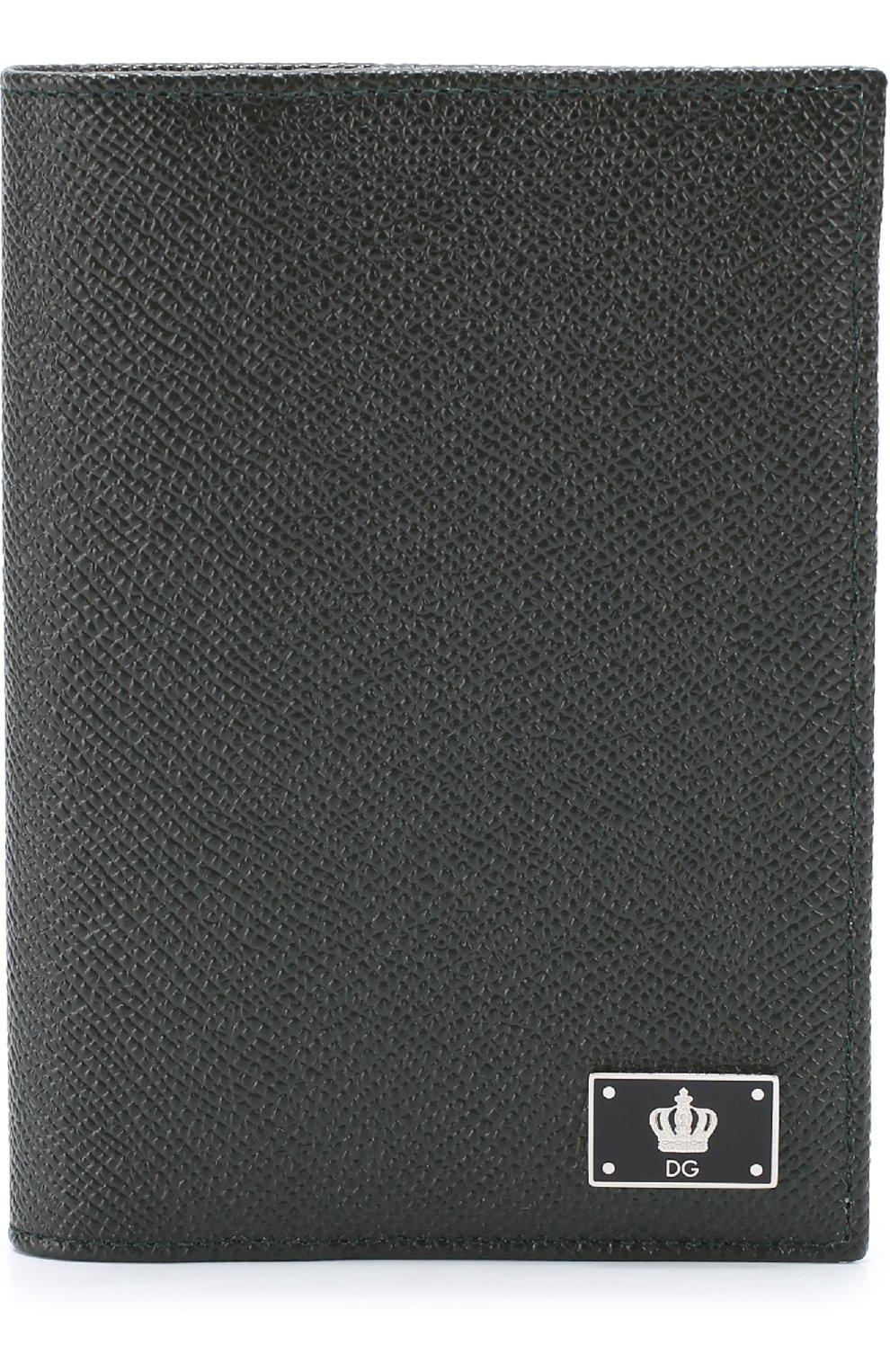 Кожаная обложка для паспорта с отделениями для кредитных карт | Фото №1
