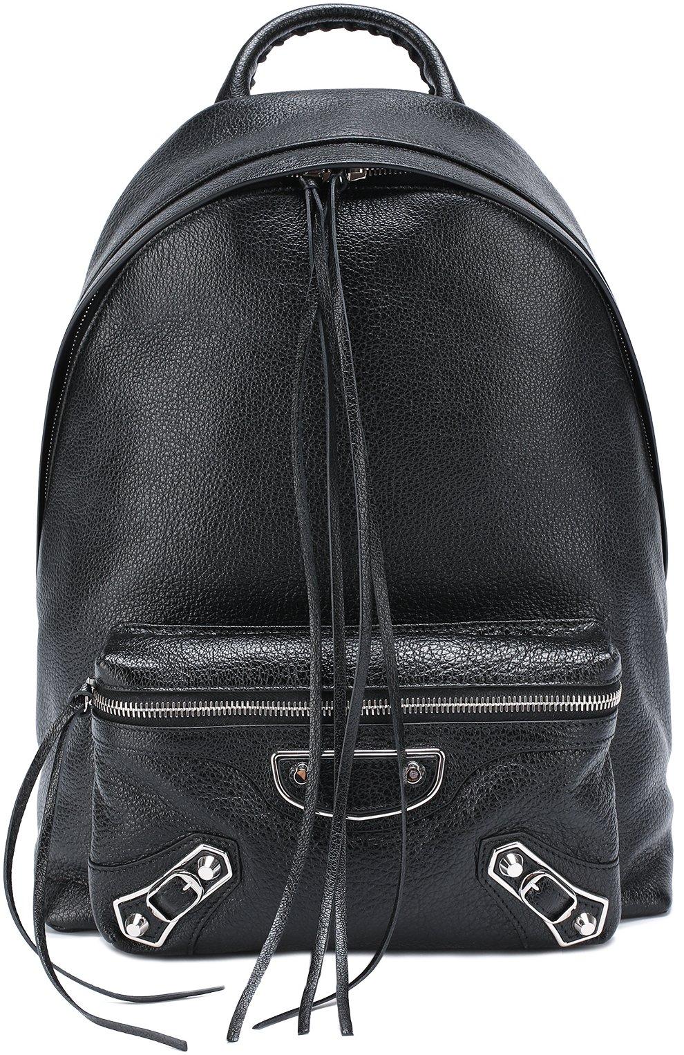 Кожаный рюкзак Metallic Edge | Фото №1